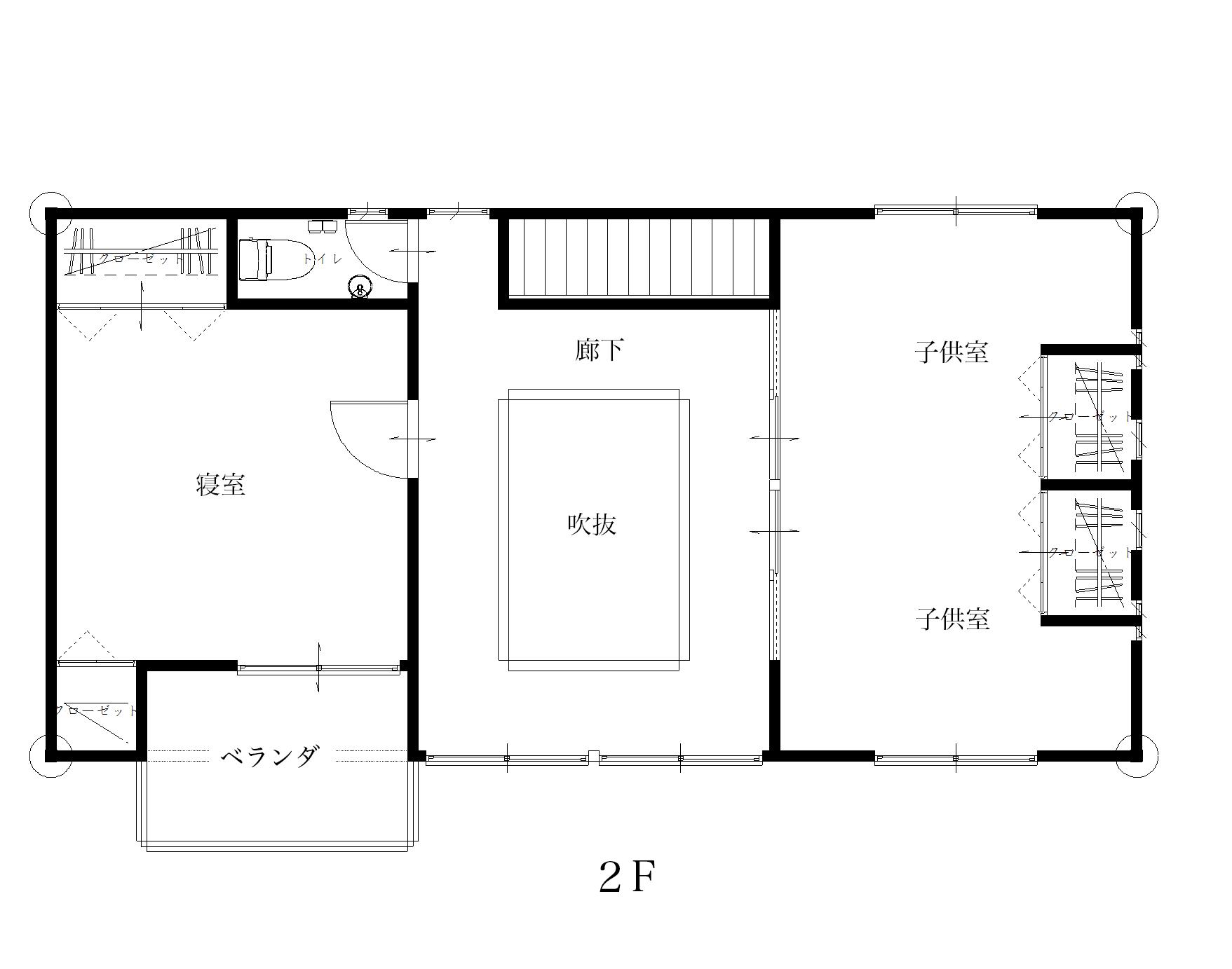 日田上城内展示場図面2